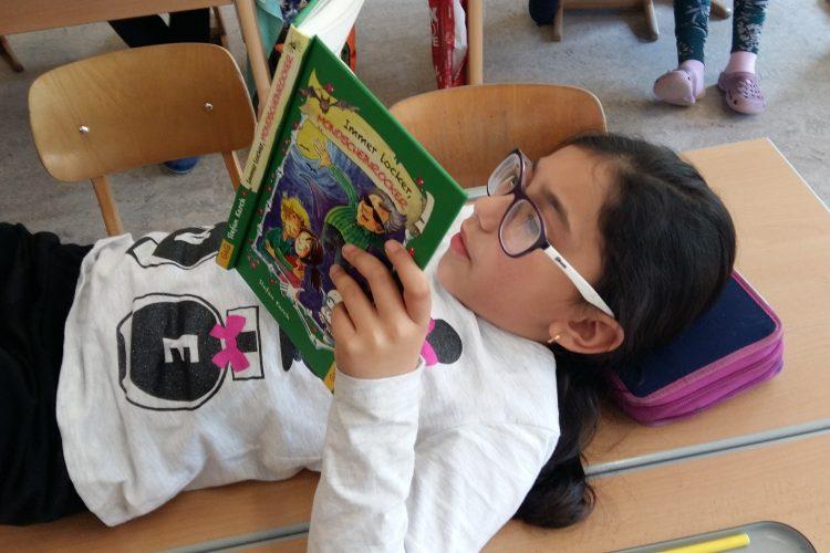 """""""Eine Woche für das Buch"""" oder """"Unsere Superkraft ist das Lesen!"""""""