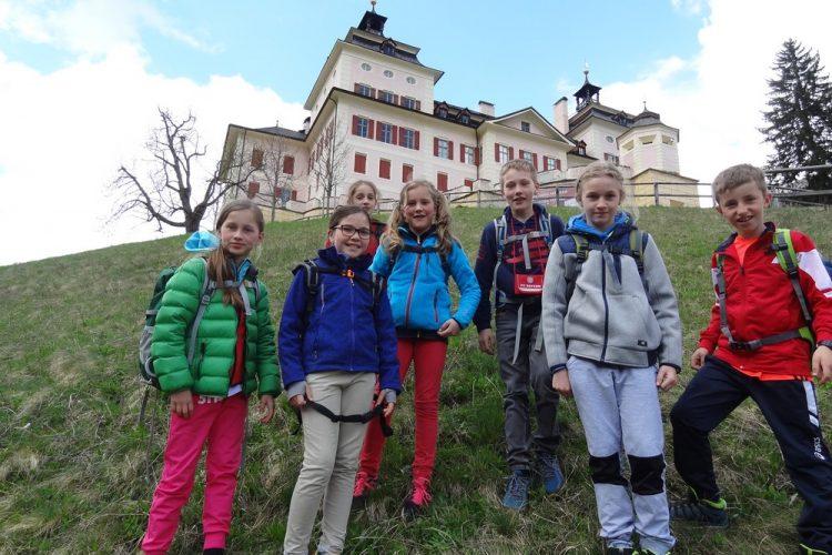Besuch auf Schloss Wolfsthurn