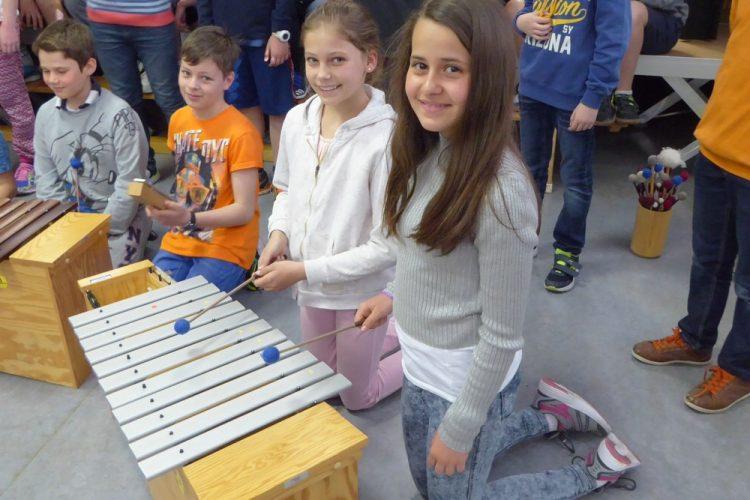 """Projekt """"klaNg"""": Eine musikalische Stunde"""