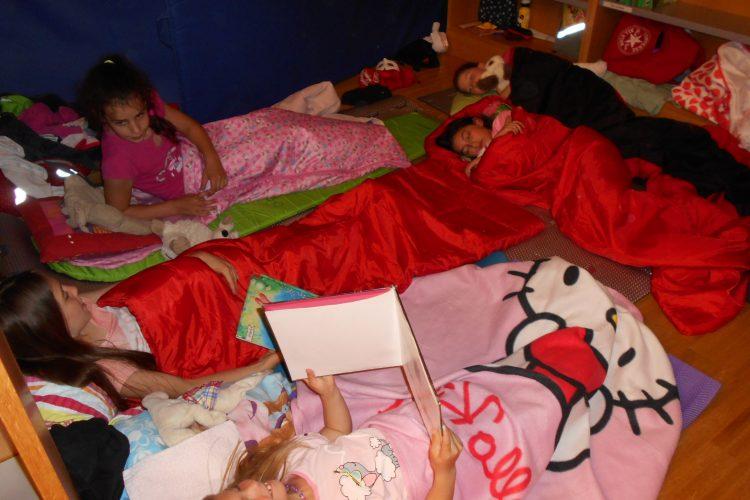 In der Lese-Lese-Lesenacht, da lesen wir bis Mitternacht