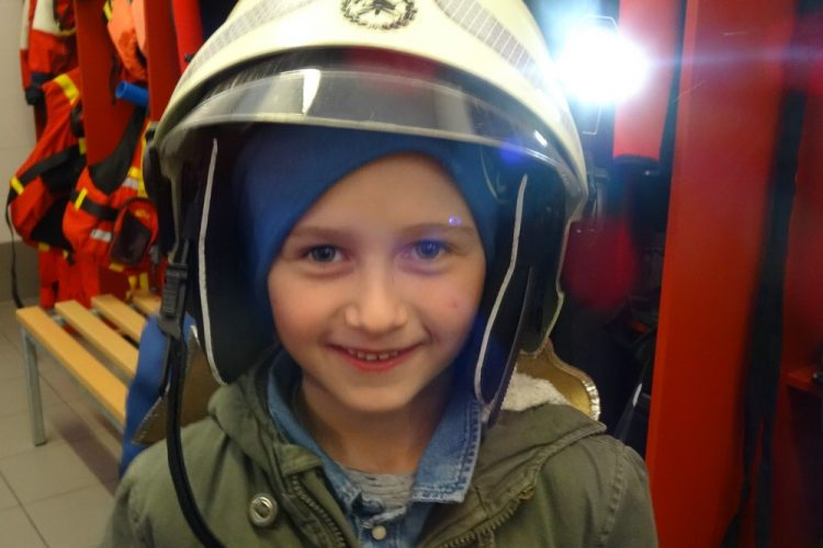 Besuch bei der Feuerwehr Brixen