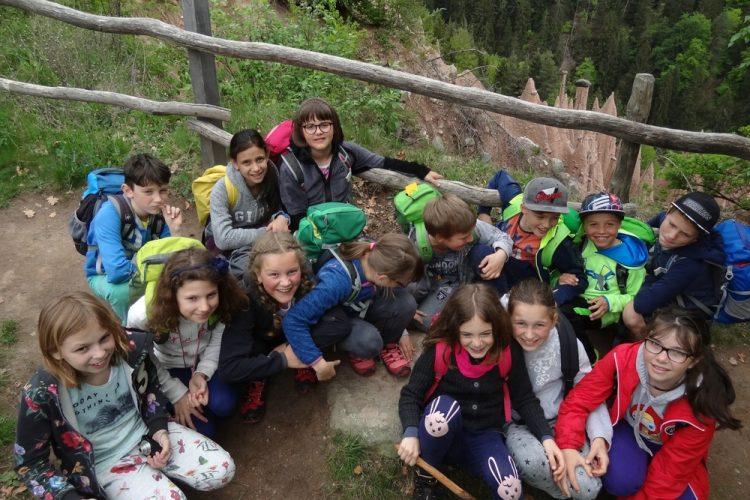 Ausflug zu den Erdpyramiden von Oberbozen 2018