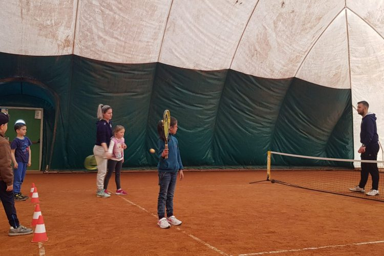 Besuch im Tennisclub Brixen