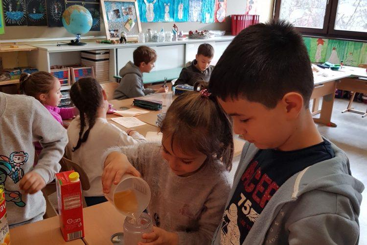 Gesunde Ernährung fängt in der Schule an!